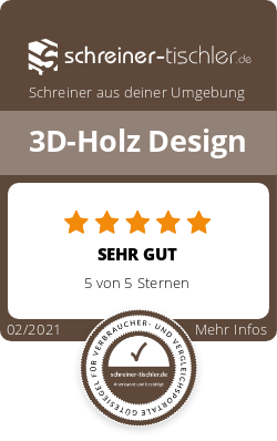 3D-Holz Design Siegel
