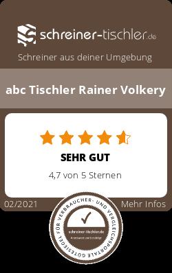 abc Tischler Rainer Volkery Siegel