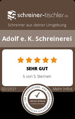 Adolf e. K. Schreinerei Siegel