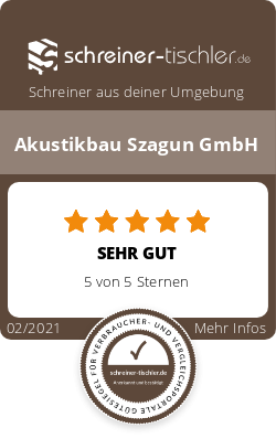 Akustikbau Szagun GmbH Siegel
