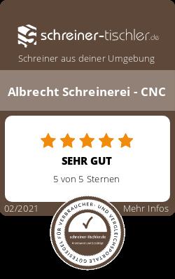 Albrecht Schreinerei - CNC Siegel