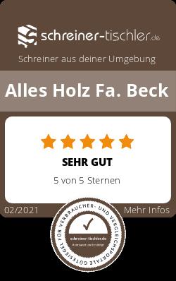 Alles Holz Fa. Beck Siegel