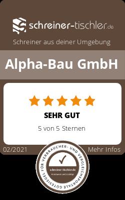 Alpha-Bau GmbH Siegel
