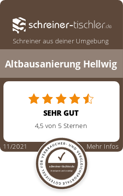 Altbausanierung Hellwig Siegel