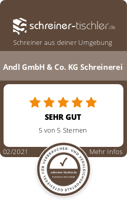 Andl GmbH & Co. KG Schreinerei Siegel