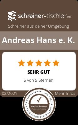 Andreas Hans e. K. Siegel