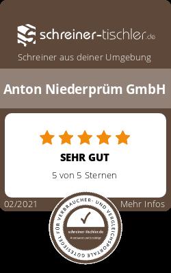 Anton Niederprüm GmbH Siegel