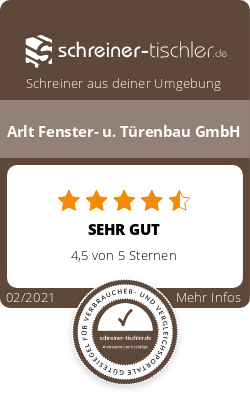 Arlt Fenster- u. Türenbau GmbH Siegel