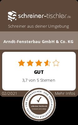 Arndt-Fensterbau GmbH & Co. KG Siegel