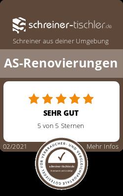 AS-Renovierungen Siegel