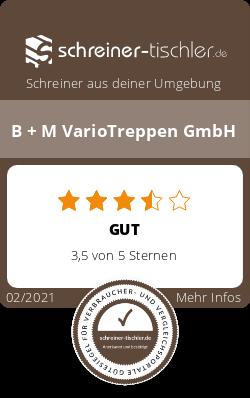 B + M VarioTreppen GmbH Siegel