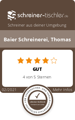 Baier Schreinerei, Thomas Siegel