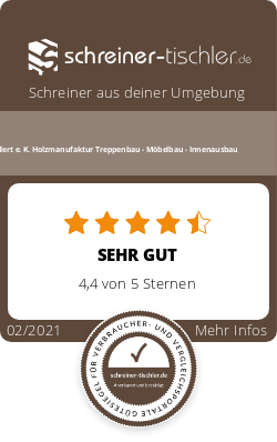 Ballert e. K. Holzmanufaktur Treppenbau - Möbelbau - Innenausbau Siegel