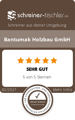 Bantumak Holzbau GmbH Siegel