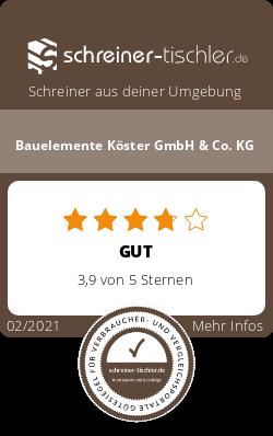 Bauelemente Köster GmbH & Co. KG Siegel