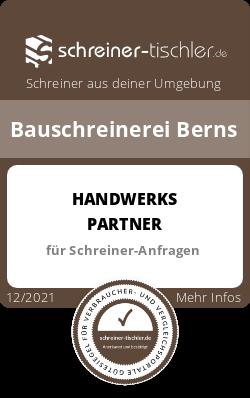 Bauschreinerei Berns Siegel