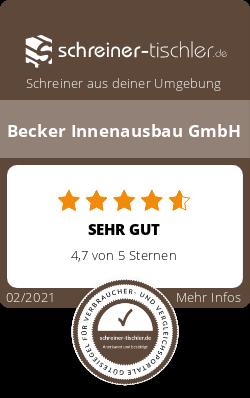 Becker Innenausbau GmbH Siegel