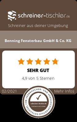 Benning Fensterbau GmbH & Co. KG Siegel