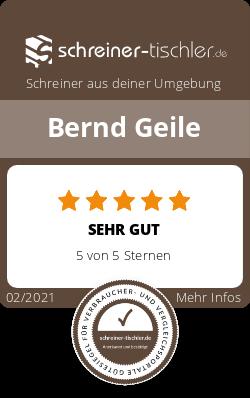 Bernd Geile Siegel