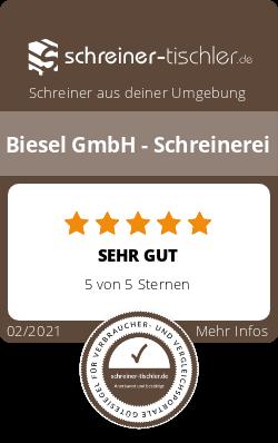Biesel GmbH - Schreinerei Siegel