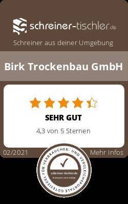 Birk Trockenbau GmbH Siegel