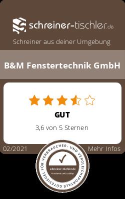 B&M Fenstertechnik GmbH Siegel