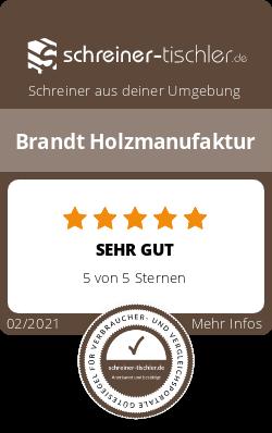 Brandt Holzmanufaktur Siegel