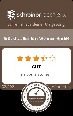 Brückl ...alles fürs Wohnen GmbH Siegel