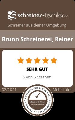 Brunn Schreinerei, Reiner Siegel