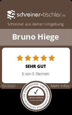 Bruno Hiege Siegel
