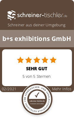 b+s exhibitions GmbH Siegel