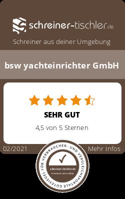 bsw yachteinrichter GmbH Siegel