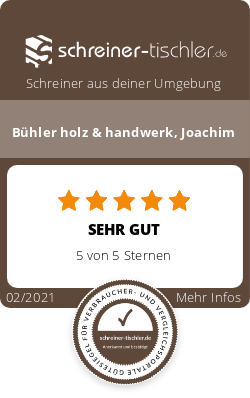 Bühler holz & handwerk, Joachim Siegel