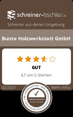 Bunte Holzwerkstatt GmbH Siegel