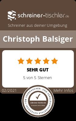 Christoph Balsiger Siegel