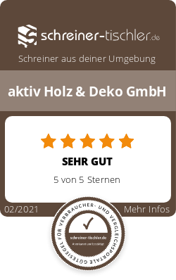 aktiv Holz & Deko GmbH Siegel