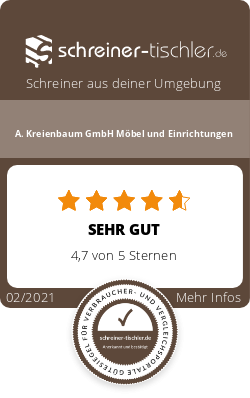 A. Kreienbaum GmbH Möbel und Einrichtungen Siegel