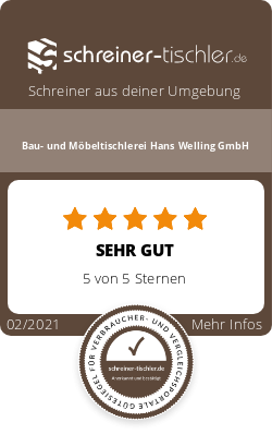 Bau- und Möbeltischlerei Hans Welling GmbH Siegel
